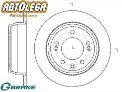 Диск тормозной зад. G-brake Hyundai I30/I35 08- / KIA CEED 07-/Sportage