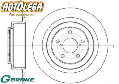 Диск тормозной зад. G-brake Subaru Legacy BE / BH 98-03 /Outback 00-03