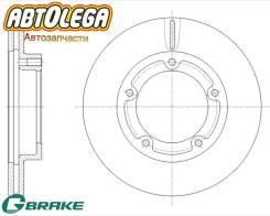 Диск тормозной передний G-brake MMC Canter FE507,527,538, FE50,5# GR-20525