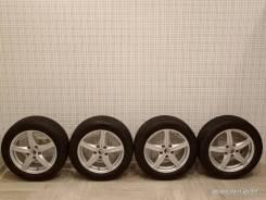 Комплект колёс на литых дисках 205/55R16 Nokian