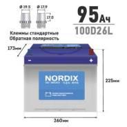 Nordix. 95А.ч., Обратная (левое)