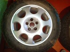Диски Ауди R16, шины Bridgestone Blizzak Spike 215/60R16