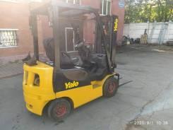 Yale GP15MX. Продам вилочный погрузчик Yale GP15AK 2012 г. в., 1 500кг., Бензиновый