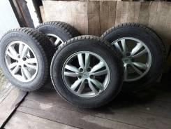 "Комплект колес на Hyundai Tucson. 6.5x16"" 5x114.30 ET46"