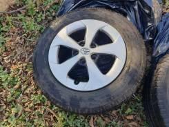 Продам комплект колёс на toyota prius 5x100 195/65 R15
