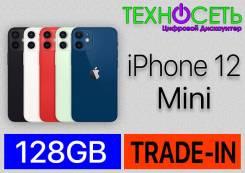 Apple iPhone 12 mini. Новый, 128 Гб, Белый, Зеленый, Красный, Синий, Черный, 3G, 4G LTE, NFC