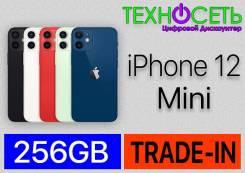 Apple iPhone 12 mini. Новый, 256 Гб и больше, Белый, Зеленый, Красный, Синий, Черный, 3G, 4G LTE, NFC. Под заказ
