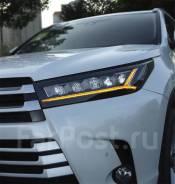 Фары диодные Toyota Highlander 2016-2019