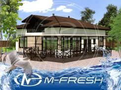 M-fresh Mansarda (Проработанный проект обворожительного дома! Да! ). 100-200 кв. м., 2 этажа, 5 комнат, бетон