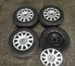 Летние шины 185/70R14 на штампованных дисках