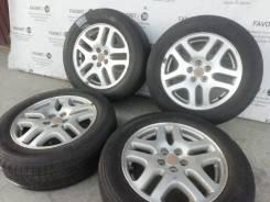 Оригинальные литые диски Subaru на шинах Toyo 215/60R16