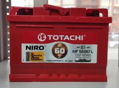 Totachi. 60А.ч., Обратная (левое), производство Япония