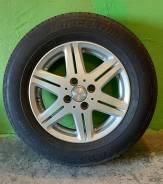 Продам литые колёса с резиной Bridgestone B700 AQ 185/70 R14