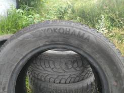 Yokohama и NOKIAN, 195 65 15. зимние, шипованные, б/у, износ 20%