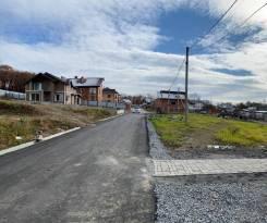 Участок с центр. сетями под строительство дома ул. Салтыкова Щедрина. 2 000кв.м., собственность, электричество, вода