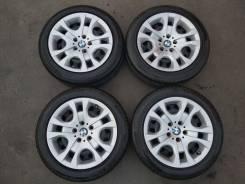 """Оригинальные колеса на BMW X1 E84 R17. 7.5x17"""" 5x120.00 ET34 ЦО 72,6мм."""