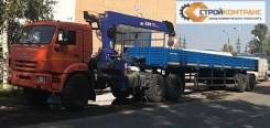 Dongyang SS1926. Купить седельный тягач Камаз-43118 с КМУ DongYang SS1926, 11 760куб. см., 12 000кг., 6x6. Под заказ