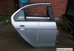 Двери задние Mitsubishi Lancer X (Мицубиси Лансер)