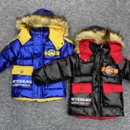 Куртки. Рост: 92-98, 98-104, 104-110, 110-116 см