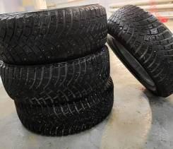 Michelin X-Ice. зимние, шипованные, б/у, износ 10%