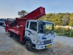 Hansin. Автовышка 43 метра на базе Hyundai HD120 2009года, 43,00м. Под заказ