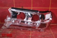 Стекло фары левой (15-) OEM 8117160K11 Toyota Land Cruiser 200