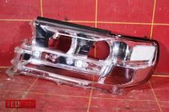 Стекло фары левой (15-) OEM 8117160K12 Toyota Land Cruiser 200