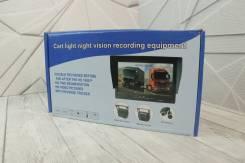 Автомобильный монитор с 2-мя камерами (12-35V) HD