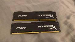 Оперативная память Kingston HyperX FURY Black Series 16 ГБ