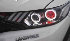 "Фары Honda Fit 2013+ ""Red Eye"""
