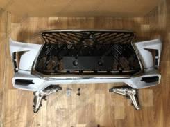 Бампер Lexus LX570 2012-2015 Стиль 2016-2019 Superior