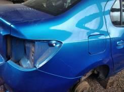 Крыло заднее правое Renault Logan 2 четверть