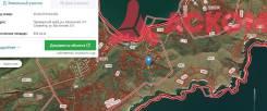 Продам земельный участок в п. Славянка. 804кв.м., собственность. План (чертёж, схема) участка