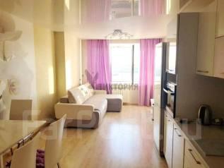 2-комнатная, улица Калинина 115а. Чуркин, агентство, 46,0кв.м. Вторая фотография комнаты
