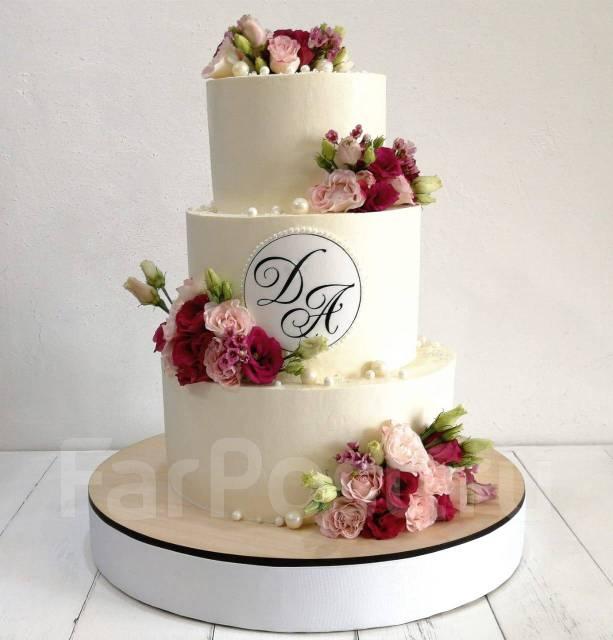 Свадебные торты на заказ tort_ helen_vl ! Елена ! Доставка !. Под заказ