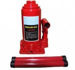 Домкрат гидравлический бутылочный 8Т (подъем 200/385мм) TBJ0801 InTop