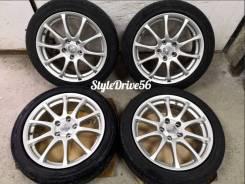 "WORK Esperio Design + Dunlop 215/50R17 91V. 7.0x17"" 5x114.30 ET42 ЦО 73,1мм."