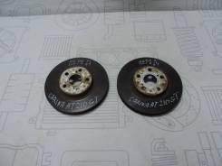 Диски тормозные передние (пара) Toyota Carina AT210 4A-GE, 2001г 4351260160