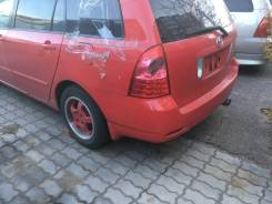 Крыло заднее левое Toyota Corolla Fielder NZE 121 красное.