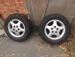 Комплект колес. Диски 5*114,3 резина зима шипы