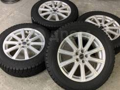 Balminum R17 5*100 7j et53 + 215/55R17 Goodyear Ice Navi 6 japan 2016