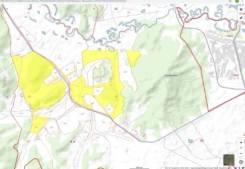Продается земельный участок 1214 га, с. Ильинка, Ханкайский р-н. 12 134 995кв.м., аренда. План (чертёж, схема) участка