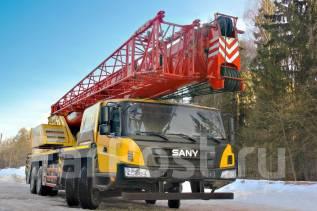 Palfinger-Sany. Автомобильный кран Sany Palfinger STC500, 50 тонн в Хабаровске, 9 726куб. см.