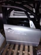 Дверь Suzuki SX4, передняя серебро