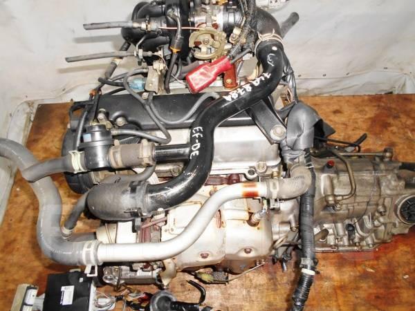 Двигатель с КПП, Daihatsu EF-DET - 0000025 AT FR JBS5 J131G 96 000 km
