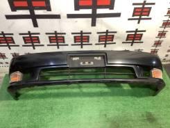 Бампер передний Toyota Mark2 90 цвет 6n2 #D дорестайл