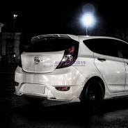Спойлер багажника. Hyundai Solaris, RB G4FA, G4FC