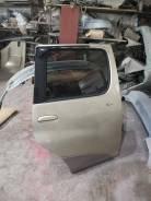 Дверь Toyota Funcargo, NCP20, NCP21, NCP25, 1999-2003, задняя правая