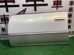 Дверь передняя левая Toyota Mark2 100 цвет 2CF #10805