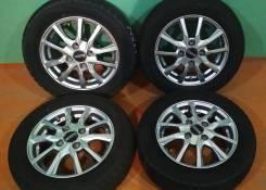 Комплект колес 155/65/13 Dunlop с литьём Euromax R13; 4x100